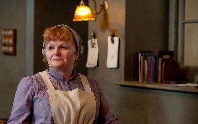 Downton Abbey's cook is an animal-loving vegan