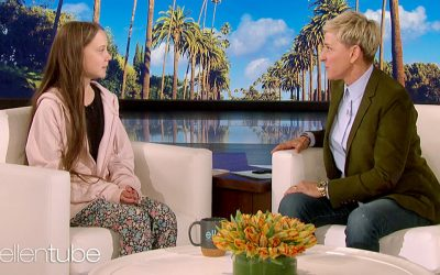 Greta Thunberg promotes veganism on The Ellen Show