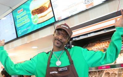 Snoop Dogg serves up Dunkin's new Beyond Sausage Sandwich