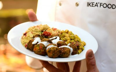 50% of hot meals served by IKEA restaurants are vegan or vegetarian