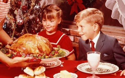 How the Christmas feast has changed over time