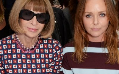 Vogue chief Anna Wintour opts for faux fur from Stella McCartney