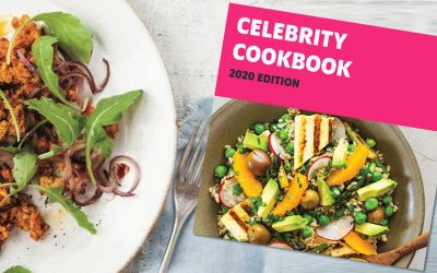 Free celebrity cookbook when you sign up for Veganuary