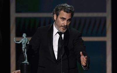 Yet another male best actor award for vegan campaigner Joaquin Phoenix