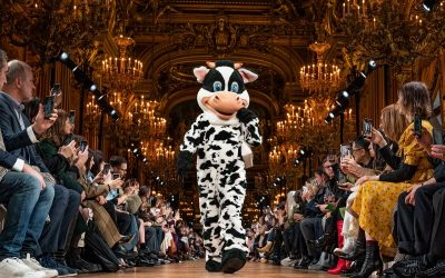 Stella McCartney welcomes the animals to her runway