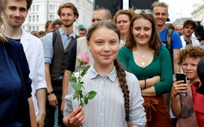 European Teen Climate-Activists Want Farming Reform