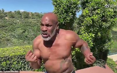Vegan Mike Tyson Shows Of Abs in New Video