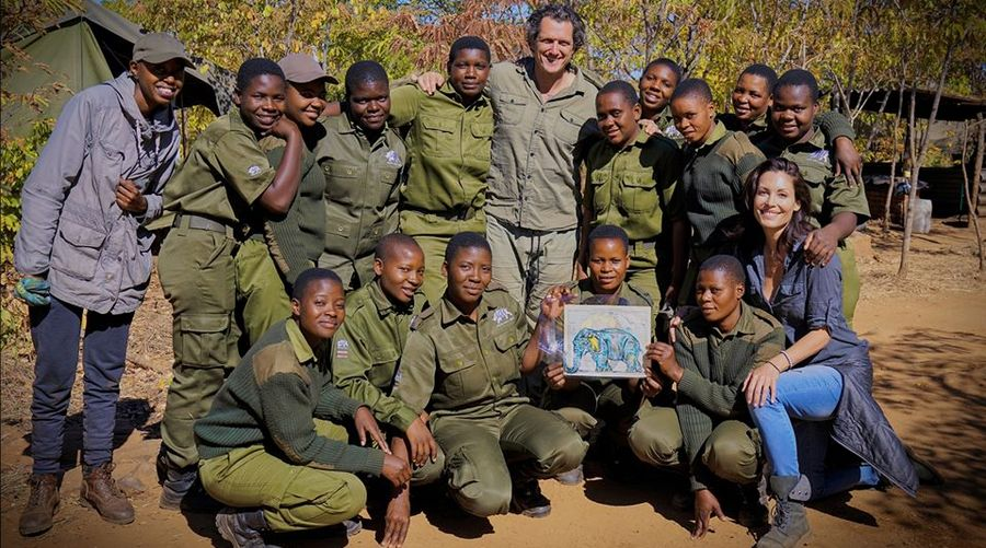 Damian Mander and All Female Vegan Army Protect Endangered Species