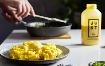 JUST vegan egg-replacer is ruling the plant-based market