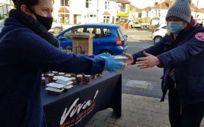 MP's back Bristol vegan groups' campaign to donate hot meals to those in need
