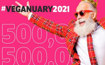 Record sign up for Veganuary 2021