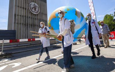 Medics demand action from World Health Organisation on climate change